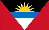 Abbild der Flagge von Antigua und Barbuda