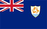 Abbild der Flagge von Anguilla
