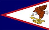 Abbild der Flagge von Amerikanisch-Samoa