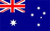 Abbild der Flagge von Australien