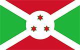Abbild der Flagge von Burundi