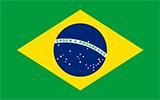 Abbild der Flagge von Brasilien