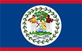 Abbild der Flagge von Belize