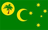 Abbild der Flagge von Kokosinseln