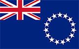 Abbild der Flagge von Cookinseln