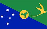 Abbild der Flagge von Weihnachtsinsel