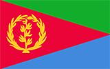 Abbild der Flagge von Eritrea