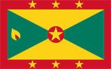 Abbild der Flagge von Grenada