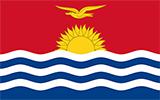 Abbild der Flagge von Kiribati