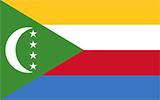 Abbild der Flagge von Komoren