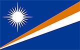Abbild der Flagge von Marshallinseln