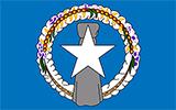Abbild der Flagge von Nördliche Marianen