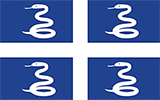 Abbild der Flagge von Martinique