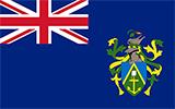 Abbild der Flagge von Pitcairninseln