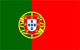 Abbild der Flagge von Portugal