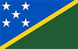 Abbild der Flagge von Salomonen