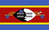 Abbild der Flagge von Swasiland