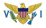 Abbild der Flagge von Amerikanische Jungferninseln